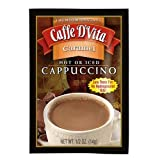 Caffe D'Vita Caramel Cappuccino Mix, 0.5-Ounce Envelopes (Pack of 24) For Sale