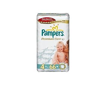 Amazon.com: Bebé pañales PAMPERS cuidado Premium 4: Baby