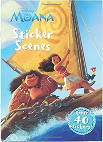Disney Moana: Sticker Scenes : Sticker Scenes price comparison at Flipkart, Amazon, Crossword, Uread, Bookadda, Landmark, Homeshop18