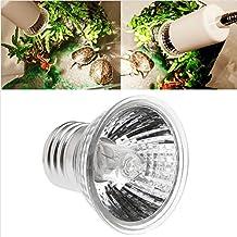 Stebcece Pet Reptile Breeding Infrared Ceramic Heater Light Lamp Bulb 50/75/100/150/200W (50ml)