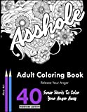 Adult coloring books: Release Your Anger: Midnight Edition: An Adult Coloring Book with 40 Swear Words to Color and RELAX ( Premium Adult Coloring Books)