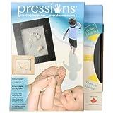 Pressions Handprint and Footprint Kit, Black