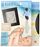 Pressions Handprint and Footprint Kit, Black