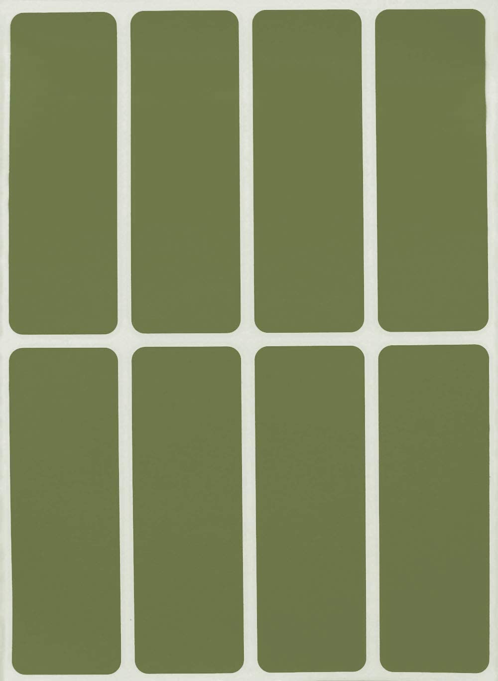 in verschiedenen Farben Gr/ö/ße 7,5 cm x 2,5 cm viereckige Etiketten 40 Vorteilspack von Royal Green Aufkleber Gold 76 mm x 25 mm rechteckige Sticker