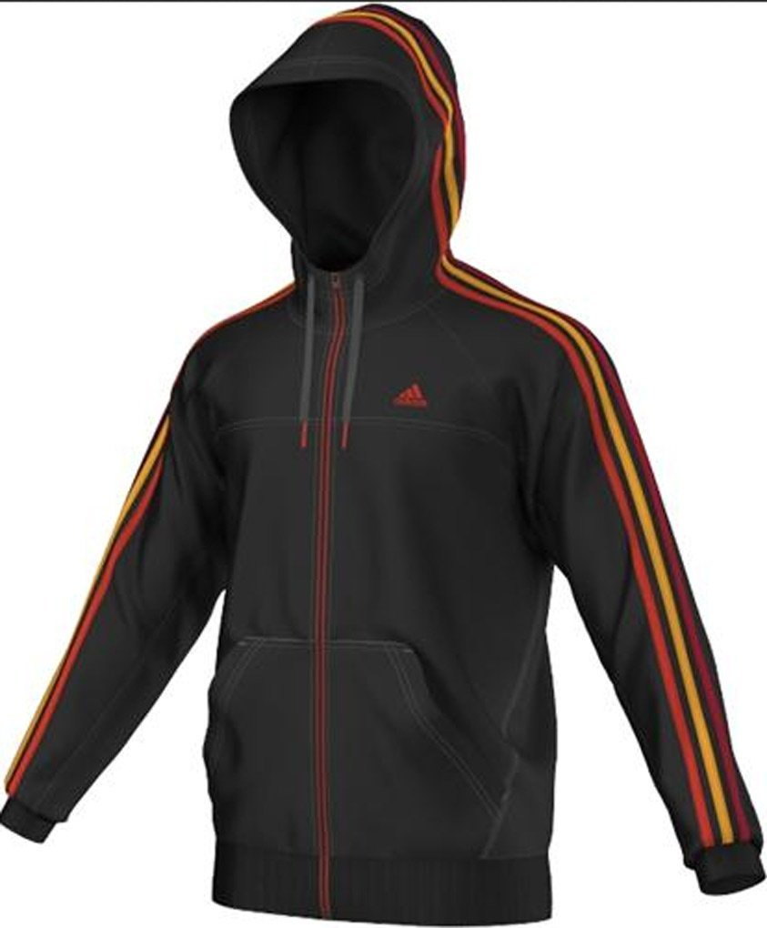 Adidas Ess 3S FZHood Sweat Jacket Black S