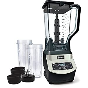 Ninja BL660WM 1000 Watt high-powered Professional Blender with Single Serve Cups (Certified Refurbished)