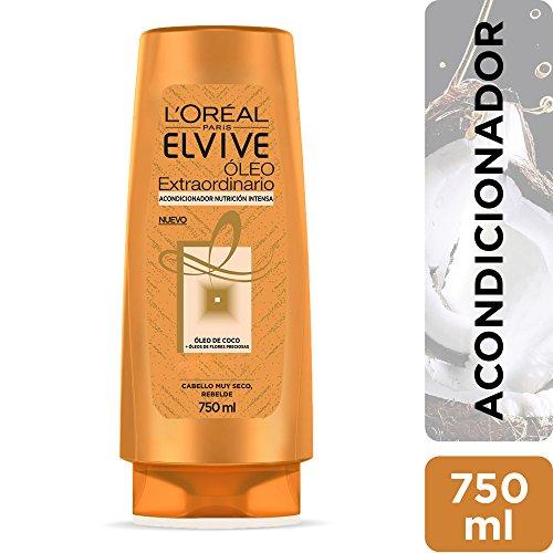 Acondicionador Óleo Extraordinario Coco Nutrición Intensa Elvive L'Oréal Paris 750 ml