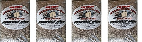 CookinPellets 40PM Perfect Mix Smoking Pellets (4-(Pack))