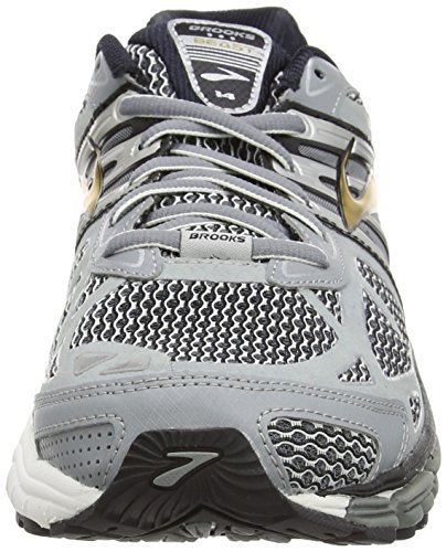 Brooks Beast '14, Zapatillas de Running para Hombre Silver/Black/Gold