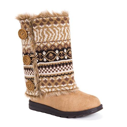 Andrea Fashion Camel Reversible MUK Women's Boot LUKS tqPfRHawv