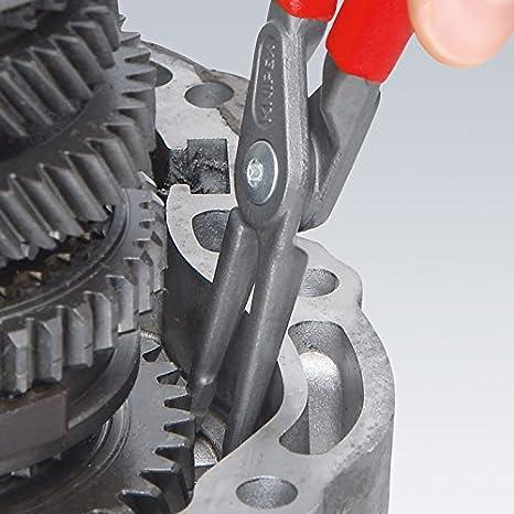 Knipex 48 41 J11 Circlip pliers alicate - Alicates (Circlip pliers, Acero, De plástico, Rojo, 13 cm, 105 g): Amazon.es: Bricolaje y herramientas