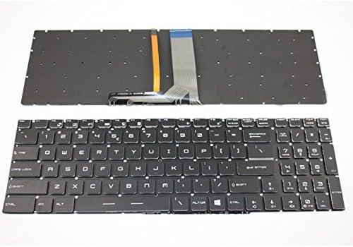 NO Frame Laptop Keyboard for MSI GE72VR 6RF GP72VR 6RF GS63VR 6RF 7RF GT73EVR 6RE 6RF 7RD 7RE 7RF PX60-2QDi716H11 PX60-2QDi781 Russian RU with Backlit /& Crystal Keycap