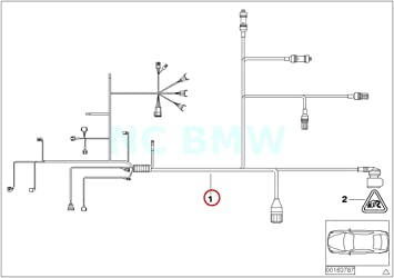 Amazon.com: BMW Genuine Engine Trans. Module Wiring Harness: AutomotiveAmazon.com