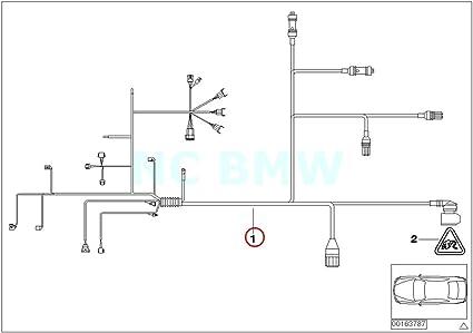 scamat engine wiring harness amazon com bmw genuine engine trans module wiring harness  bmw genuine engine trans module wiring