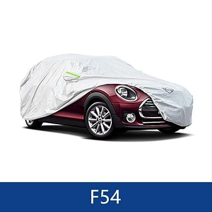 Genex Lonas Impermeables Exterior Coche Cubierta De Protecci/ón Resistente Al Polvo Sun Snow Case para Exteriores para Mini Cooper F54 F55 F56 R60 R55 Accesorios para Coche F54