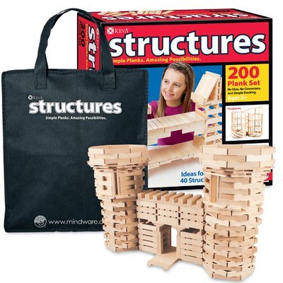 MindWare KEVA Structures 600 Building Planks Set -