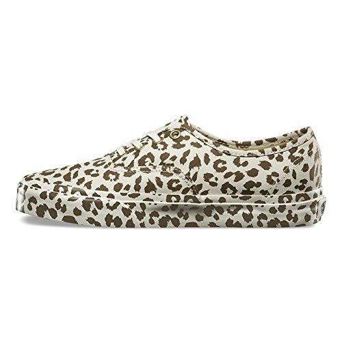 Varebiler Autentiske Kvinners 10 / Mens 8,5 Mono Print Leopard Måte Sneaker