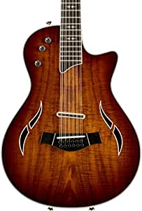 taylor t5z 12 custom 12 string electric guitar hawaiian koa sapele musical. Black Bedroom Furniture Sets. Home Design Ideas