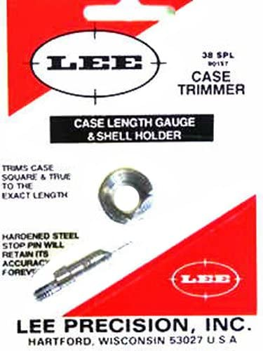 Talla /Única Lee Precision 90157 Galga con Shell Holder Calibre 38 SP Multicolor