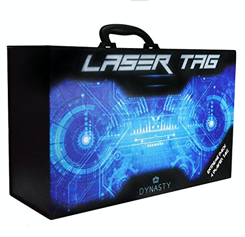 How To Set Garage Door Opener >> Dynasty Toys Laser Tag Set and Carrying Case for Kids ...