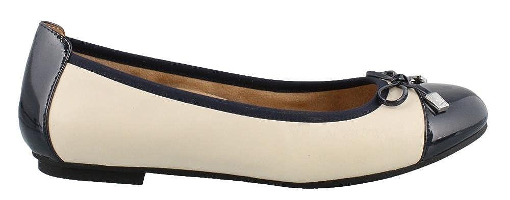 Vionic Flat Snake Sking Sking Sking Toe Cap Ballet Pump be1f93