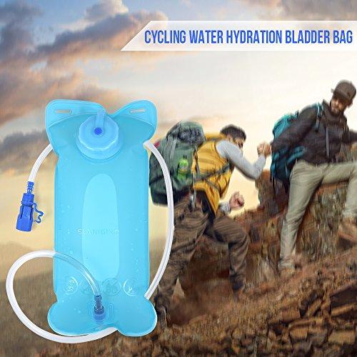 Lixada Leichter Fahrrad Rücksack mit Regenschutzkappe Trinkblase