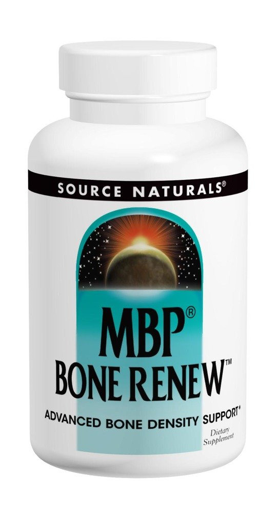 Source Naturals MBP Bone Renew, Advanced Bone Density Support, 60 Caps