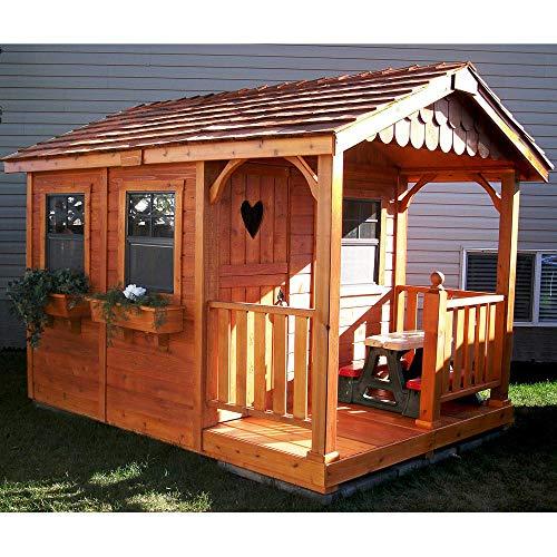 Little Cedar 6 x 6 Playhouse