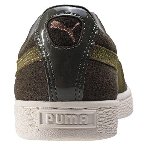 Puma Suede Xl Lace Vr, Zapatillas para Mujer, Noche de Oliva Verde (Olive Night-avocado)