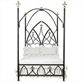 Corsican 42908 Gothic Nights Canopy Bed Queen