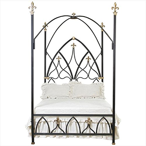 Corsican Iron Bed (Corsican 42908 Gothic Nights Canopy Bed King)