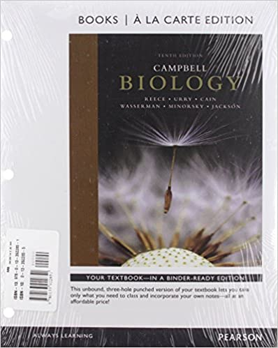 Amazon campbell biology books a la carte plus mastering amazon campbell biology books a la carte plus mastering biology with etext access card package 10th edition 9780133922851 jane b reece fandeluxe Images