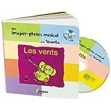 mon imagier-photos musical : Les vents (+ 1CD audio)