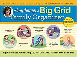 Book 2017 Amy Knapp Big Grid Wall Calendar: The Essential Organization and Communication Tool for the Entire Family