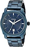 Fossil Men's Quartz Stainless Steel Casual Watch, Color:Blue (Model: FS5231)