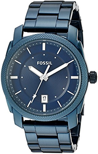 Fossil Mens Quartz Stainless Steel Casual Watch ColorBlue Model FS5231