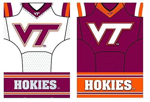 Team Sports America Virginia Tech Hokies Double Sided Jersey