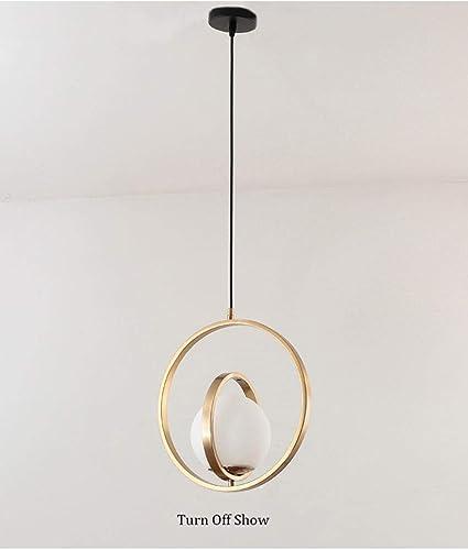 Golden Copper Single Hanglamp Draaibare Ring Met G9 Led Lamp Eetkamer Bar Italie Nachtkastje Hanglamp B 0 5w Warm Wit Amazon Nl