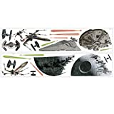 RoomMates Star Wars Classic Spaceships Peel and