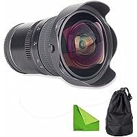 Meike 8mm f/3.5 - E-Mount Lens Works with Sony NEX-3 NEX-5 NEX-C3 NEX-5N NEX-7 NEX-F3 NEX-5R NEX-6 NEX-3N NEX-5T A3000 A7 A7R A5000 A6000 A3500 A7S A5100 A7 II A7R II A7S II A6300 A6500