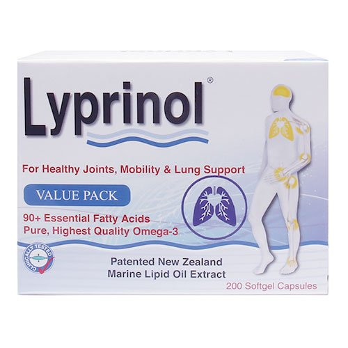 Pharma Lyprinol® Pcso-524® 200 Capsules New Zealand Green Lipped Mussel Extract Oil Joint Health Support & Mobility by Lyprinol (Image #5)