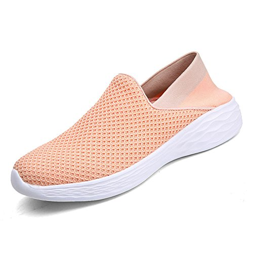 Mesh Running Pink Lightweight Shoes Athletic Women's Outdoor Sneakers VILOCY Brethable Casual 8xvqWZ