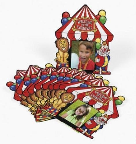 New Everyday Carnival Circus Big Top Tent Party Favor Photo Cards Pack of 12 by Generic