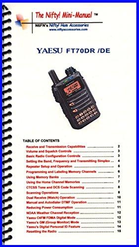 Yaesu FT-991A Mini-Manual by Nifty Accessories (Manual Mini Mini)