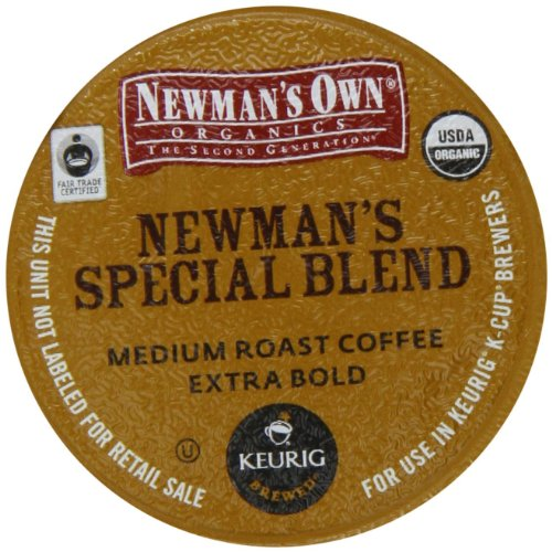 Newman's Own Special Blend (Extra Bold) K-cups for Keurig Brewing Systems, 24 Calculate
