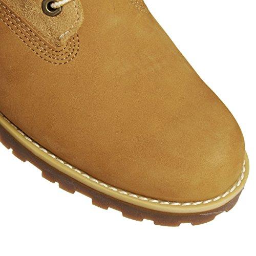 Timberland 6 In Wp Shearling Bo, Zapatos de Cuello Alto Unisex Niños Braun