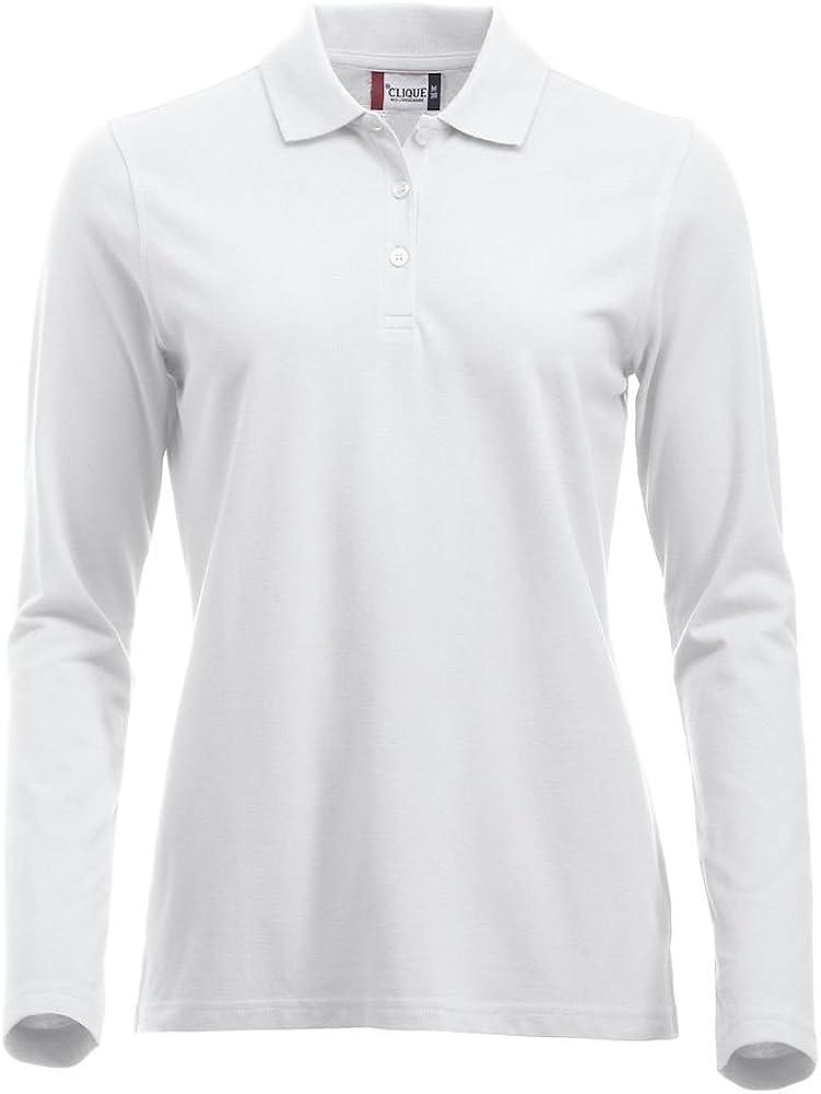 Clique Clothing maglia a maniche lunghe classica in cotone vestibilit/à moderna da XS a XXL da donna