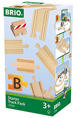 BRIO 63339400 Starter Track Pack Train Set