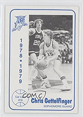 Chris Gettelfinger (Basketball Card) 1978-79 Foodtown University of Kentucky Wildcats - [Base] #18