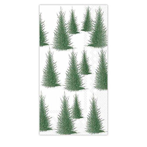 Ideal Home Range 16 Count Caskata Studios Paper Guest Towel Napkins, Conifers